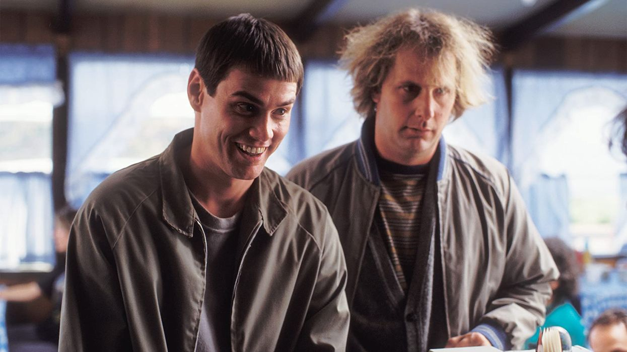 Is there a new movie in the works? Sadly it's notDumb and Dumber 3,but Jim Carrey and Jeff Daniels did team up for an audiobook reading of Carrey's upcoming novel. Memoirs and Misinformation comes out next month and looks to take readers, and now listeners, on quite the fictional ride.