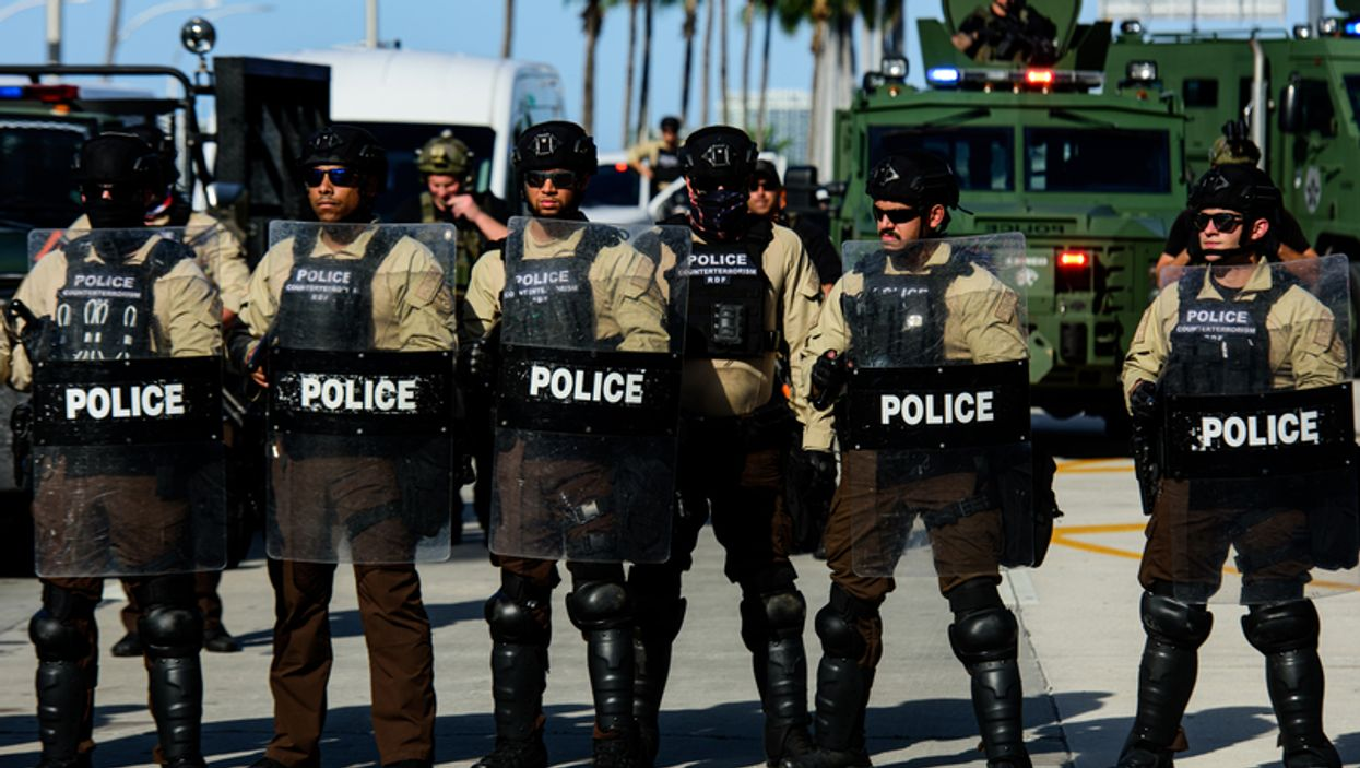"""Hallandale Beach SWAT Team Resigned Citing """"Safety Concerns"""" As Protests Continue"""
