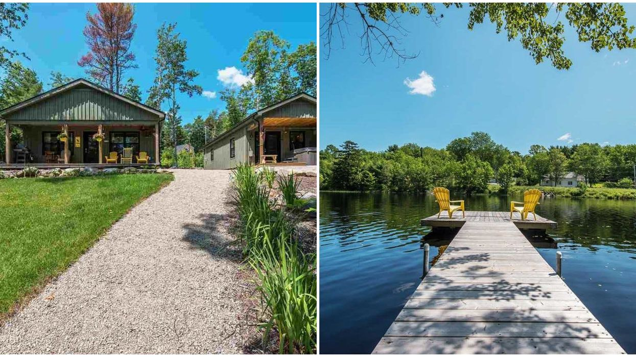 House For Sale In Nova Scotia Right On A Lake Will Make Life Feel Like Summer Camp