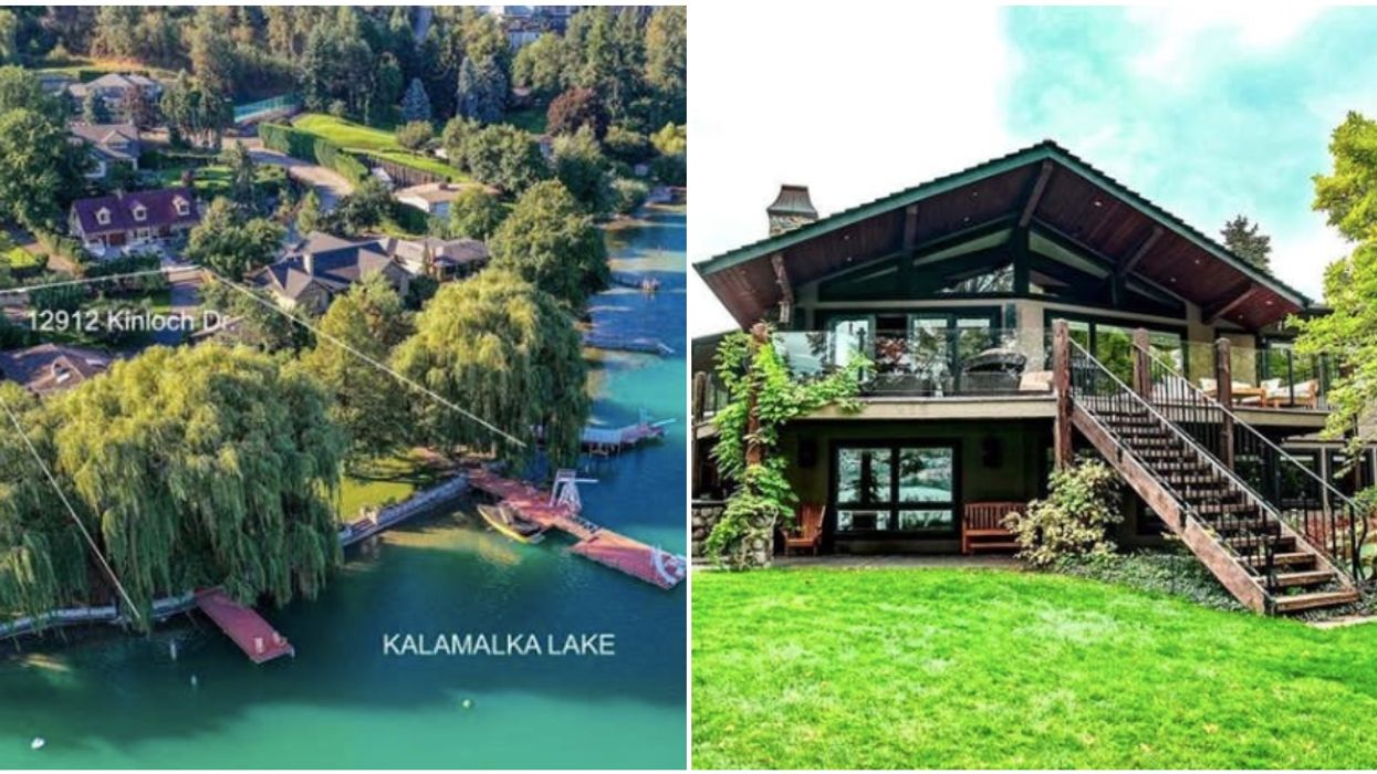 BC Home For Sale Is Next To Water So Turquoise You'll Want To Dive Right In