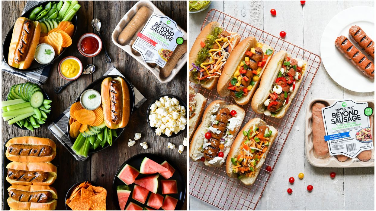 Beyond Sausage Recently Launched In Canada Just In Time To Up Your Summer BBQ Game