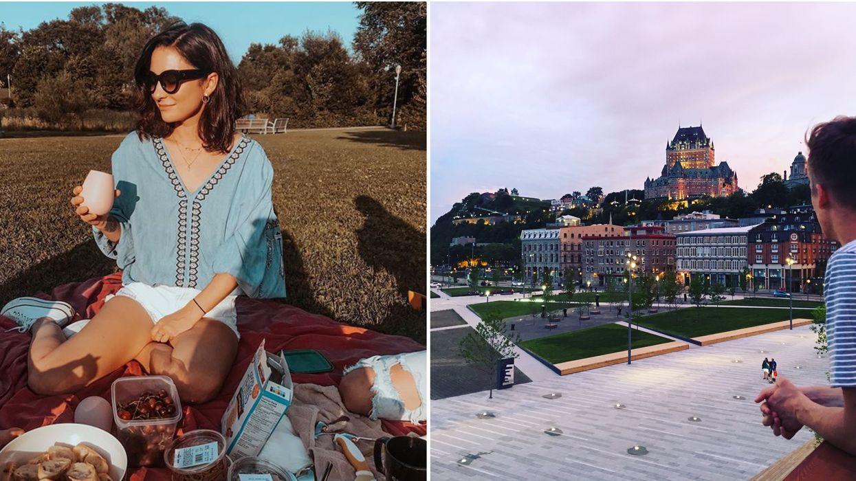 6 endroits avec une vue à couper le souffle à Québec pour un pique-nique romantique