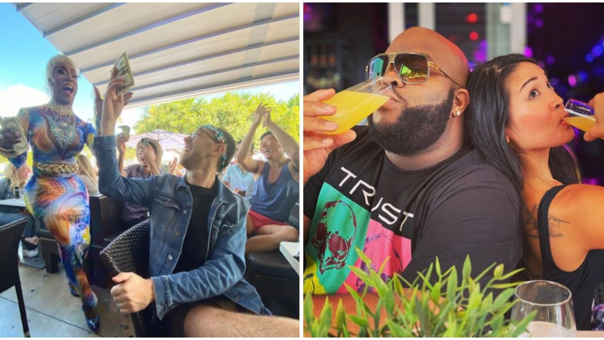 Miami Beach's Palace Bar Serves Up Unlimited Mimosas & The Wildest Drag Brunch