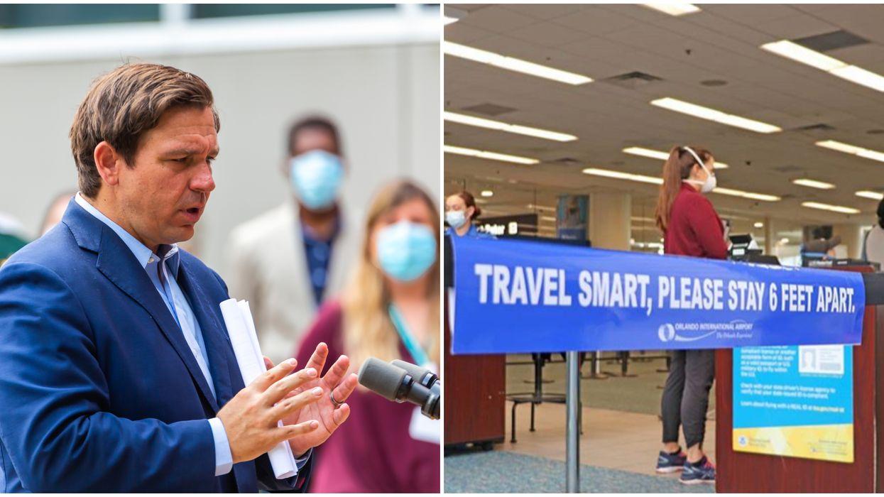 Orlando International Airport Corrects DeSantis Regarding Positive Coronavirus Staff Cases