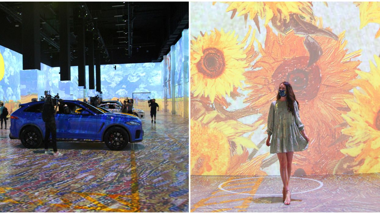Toronto's Immersive Van Gogh Exhibition Is Opening Soon & Here's A First Look