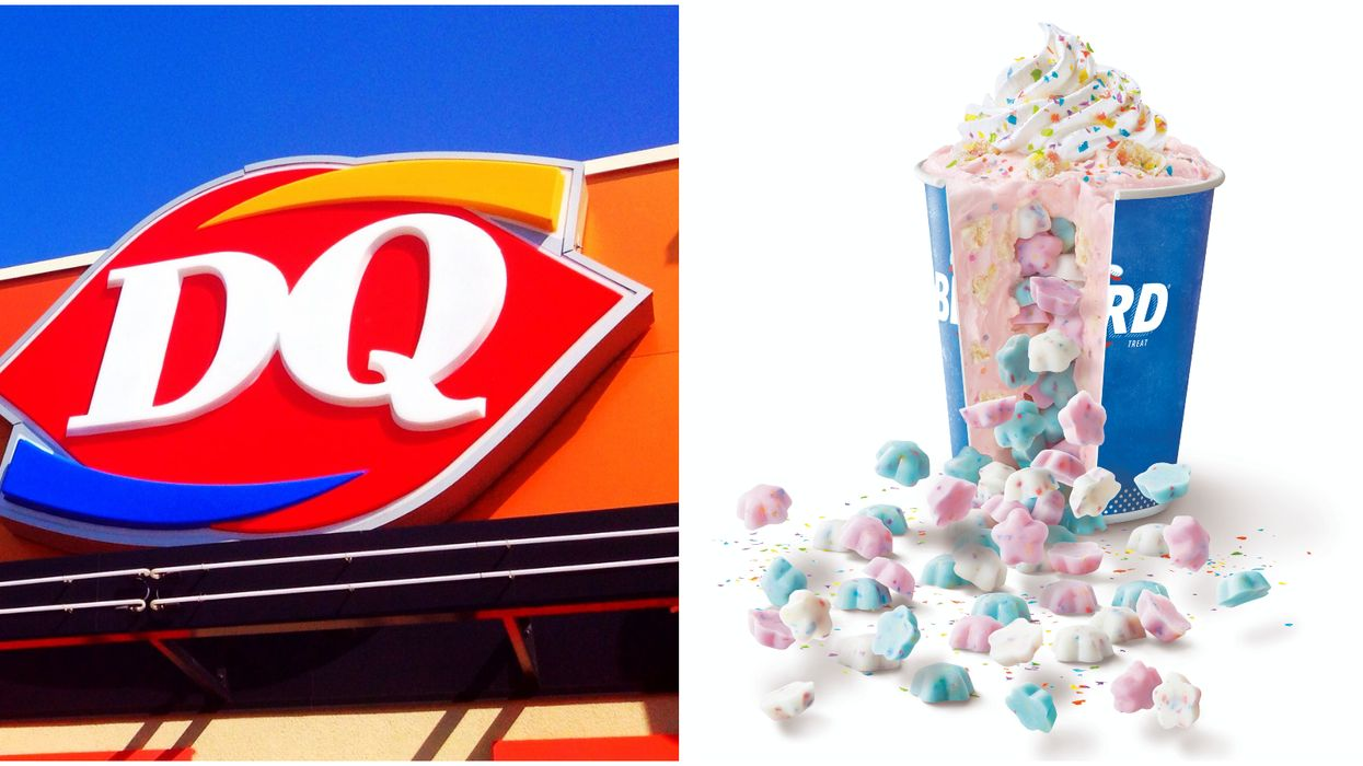 Dairy Queen Blizzard Coming To Canada For A Limited Time Has A Candy Surprise Inside