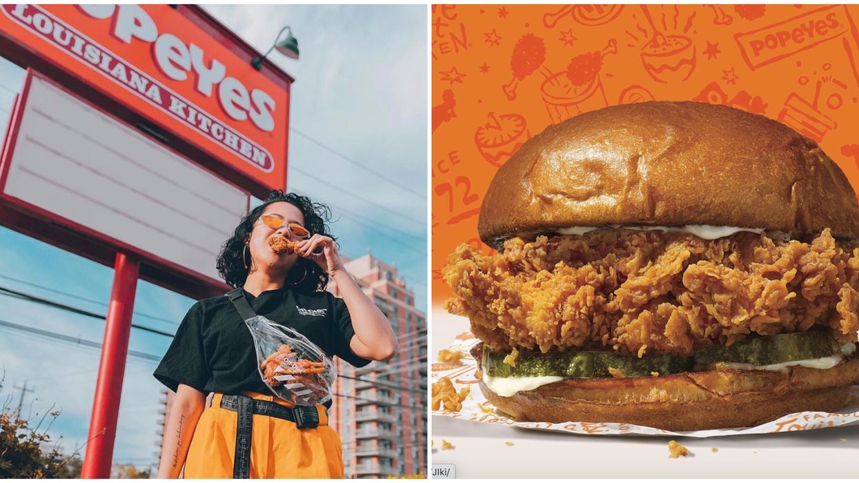 Popeyes Edmonton Is The First City In Canada To Get The Legendary Chicken Sandwich