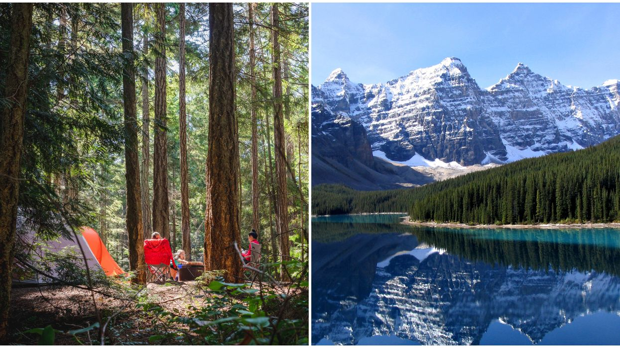 National Parks Canada Camping Is Finally Allowed Again Just In Time For Summer