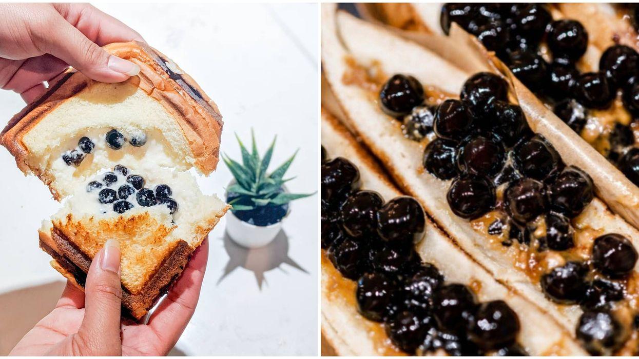 Meetea In Washington Sells Gooey Boba Cheese Toast