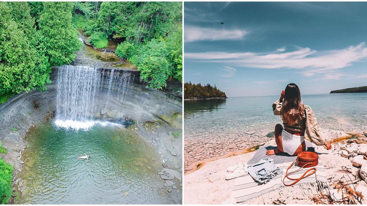 Ontario's Swimming Holes Are The Perfect Summer Getaway