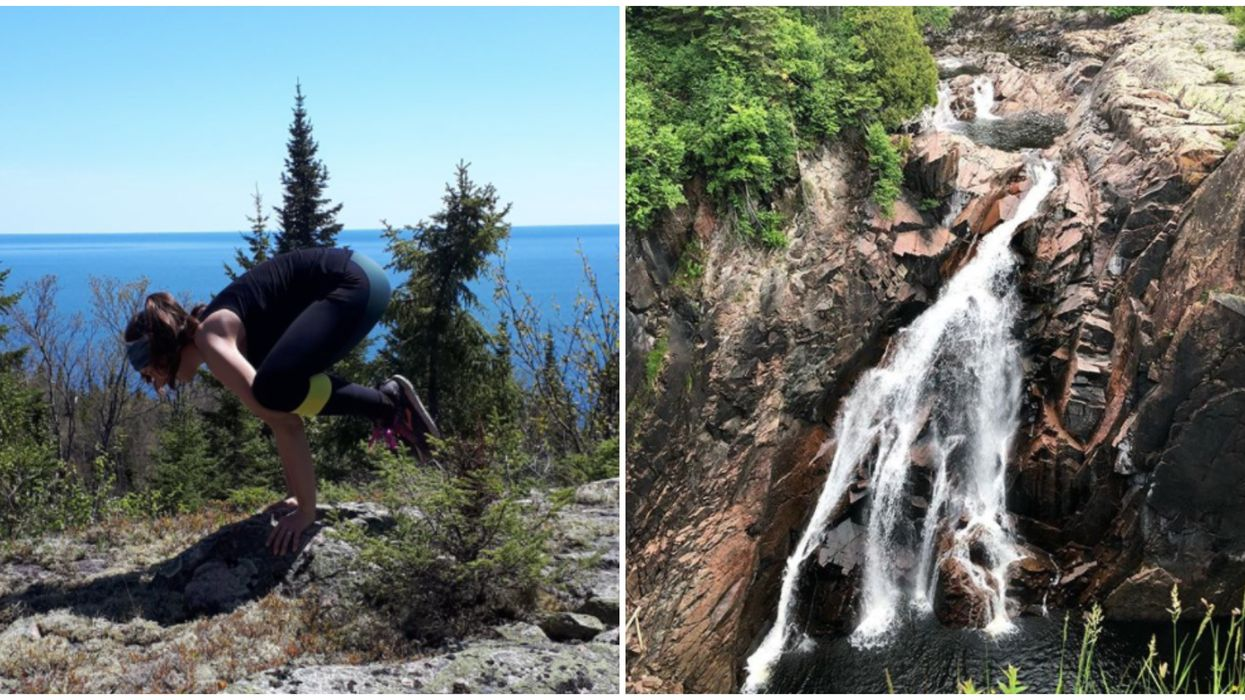 Casque Isle Trail In Ontario Lets You Wander Past Abandoned Gold Mines & Gushing Waterfalls