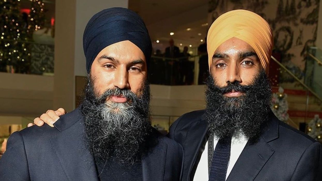 Jagmeet Singh's Brother Said He Has Never Backed Down From Racists
