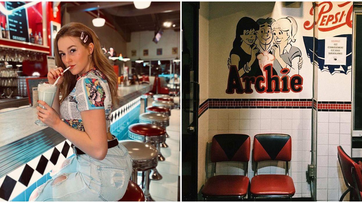 10 diners rétro à Montréal et environs qui te donneront l'impression d'être dans Archie