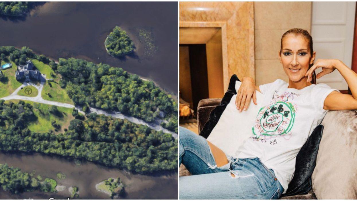 L'ancien manoir de Céline Dion à Laval au beau milieu d'un immense projet de 800 M$