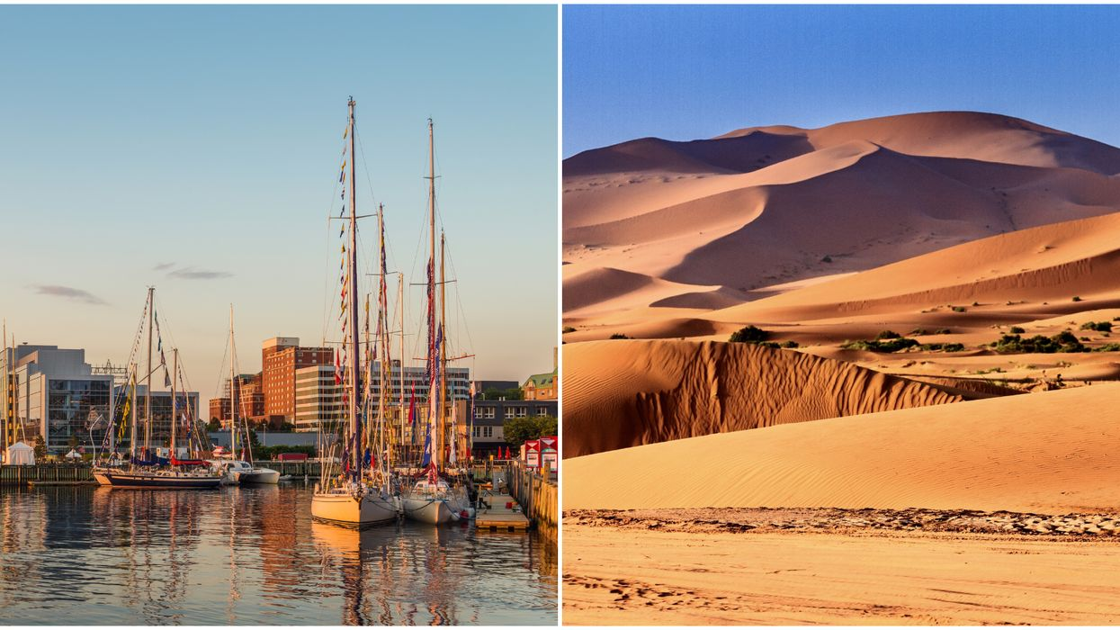 Nova Scotia Weather Is Going To Be Hotter Than Some Parts Of The Sahara Desert This Week