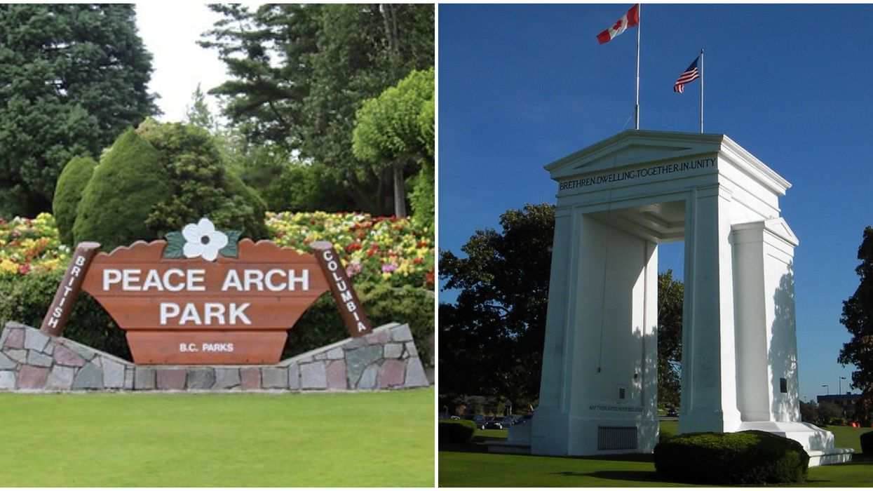Peace Arch Park Is Closed After Way Too Many Visitors Showed Up