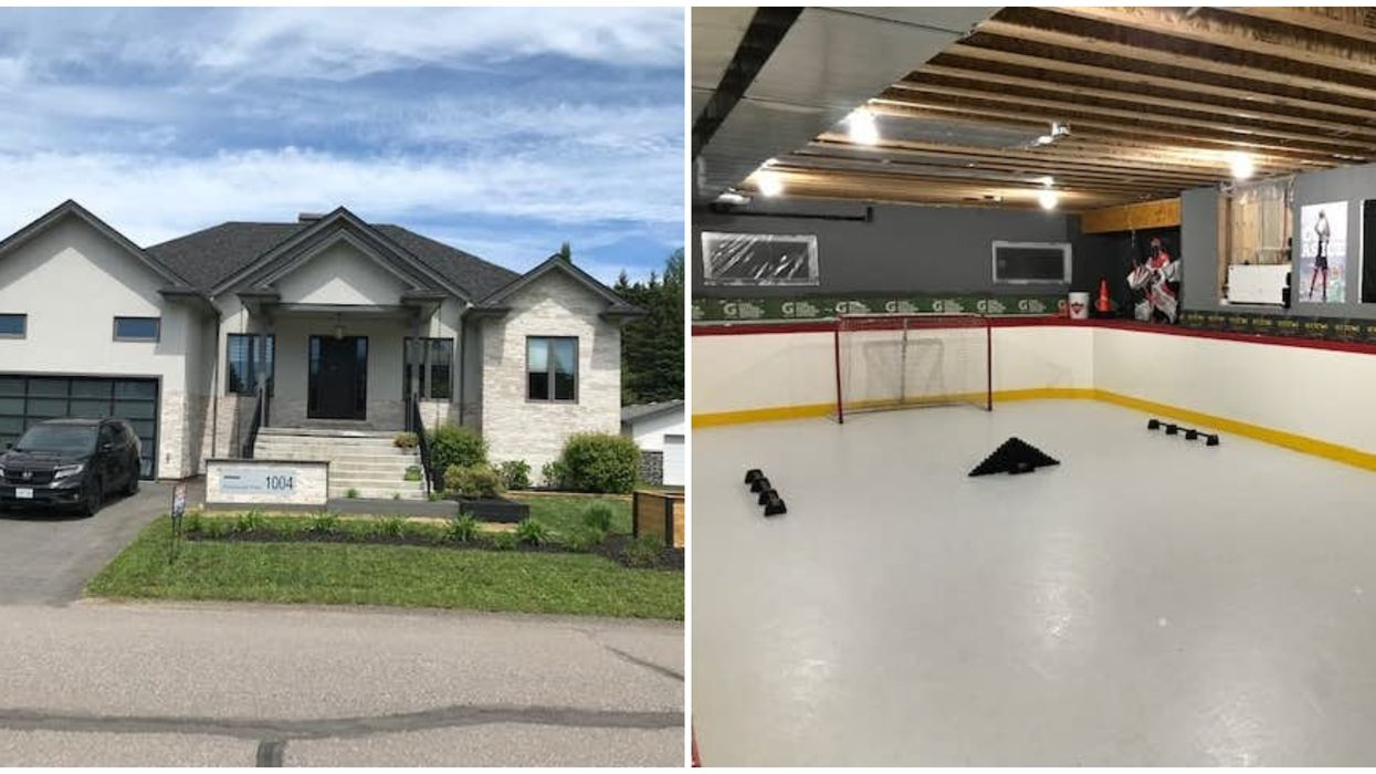 Ontario House For Sale Comes With Its Own Hidden Hockey Rink