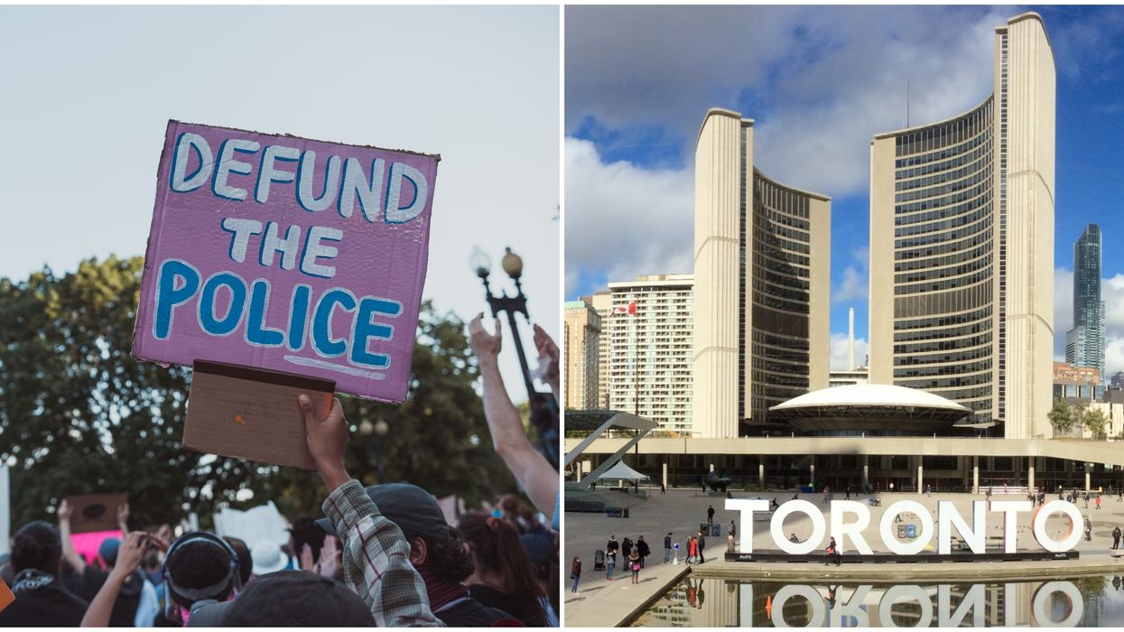 A Juneteenth Protest In Toronto Will Hold A Sit-In In Support Of Defunding The Police