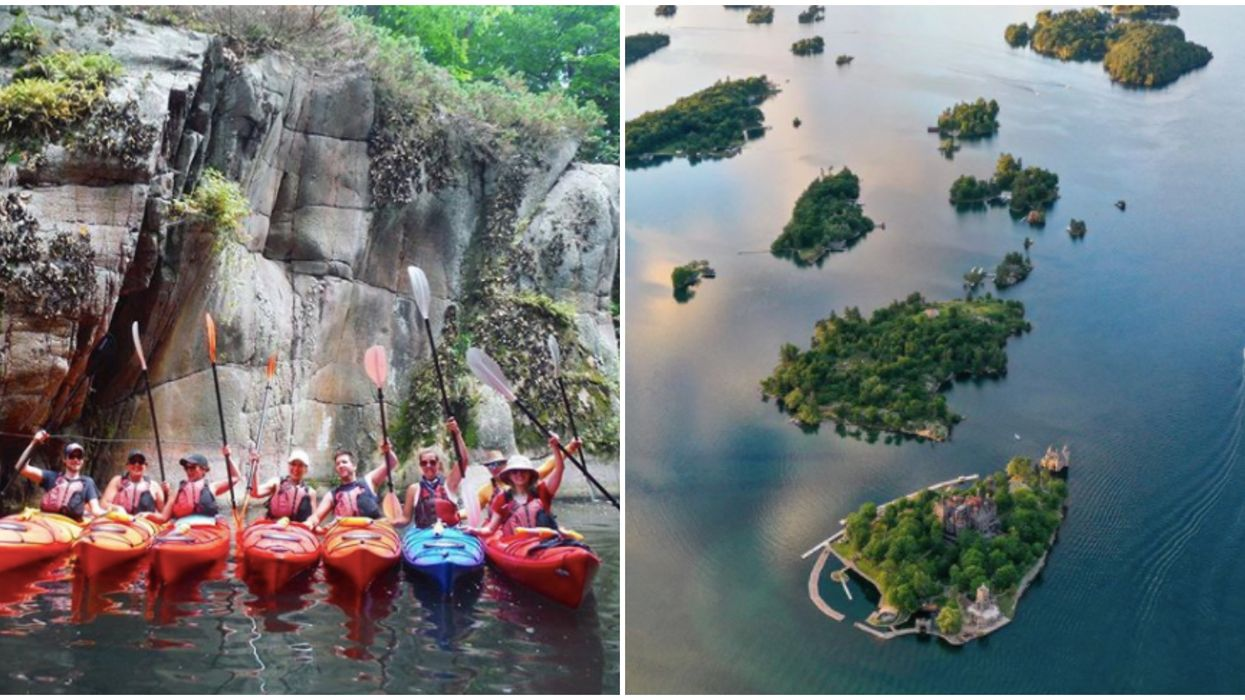 Thousand Islands In Ontario Lets You Paddle Through Remote Island Clusters