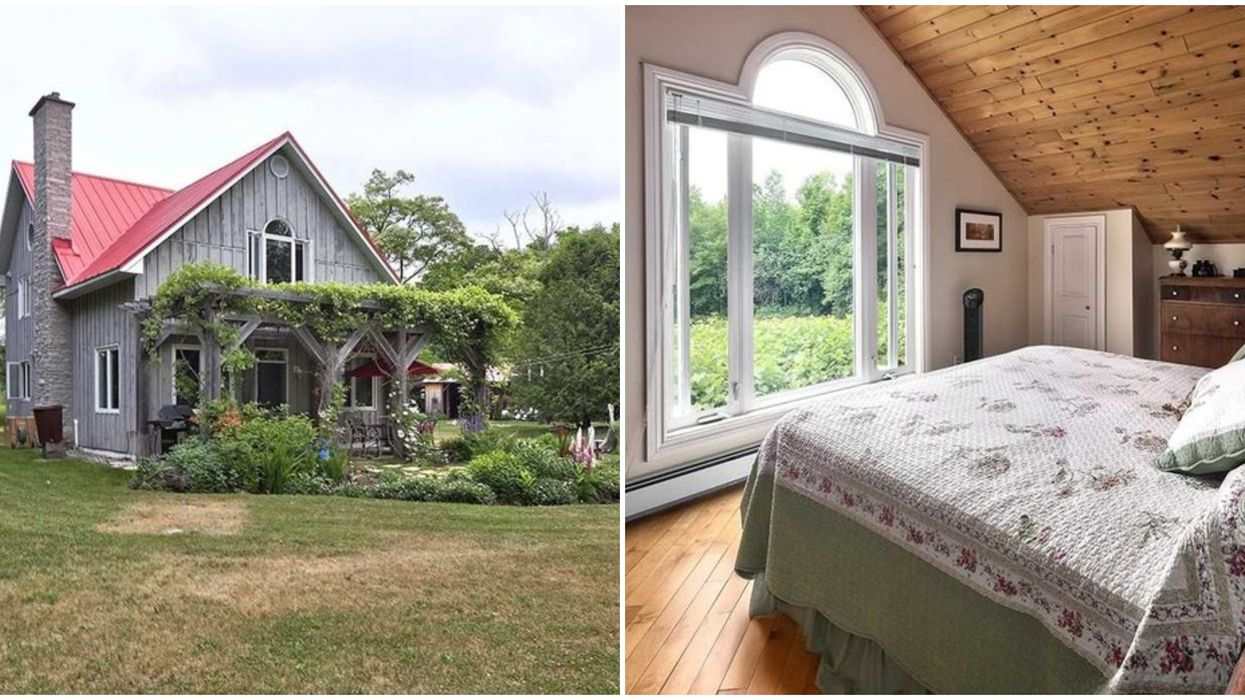 House For Sale In Ontario Looks Like A Fairytale Cottage