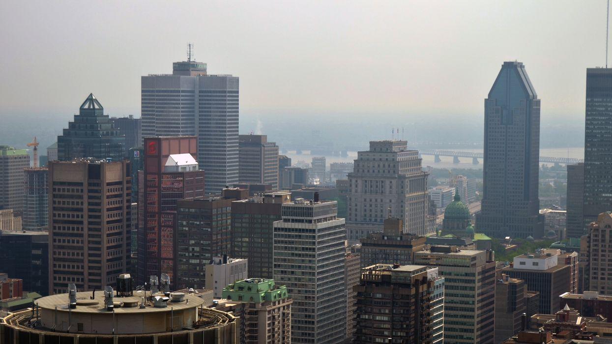Alerte de smog à Montréal : Voici pourquoi il y a une odeur de fumée ce matin