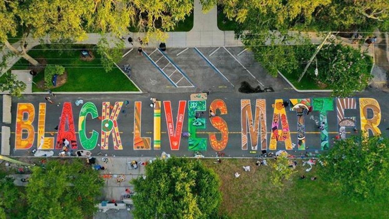 Black Lives Matter Mural Unveiled At St. Pete's Only African American Museum