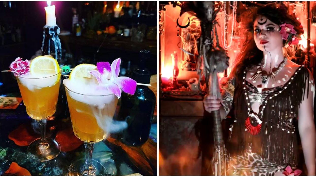 Orlando Halloween Bar Cocktails And Screams Adds Tiki Tuesdays Witch Doctor