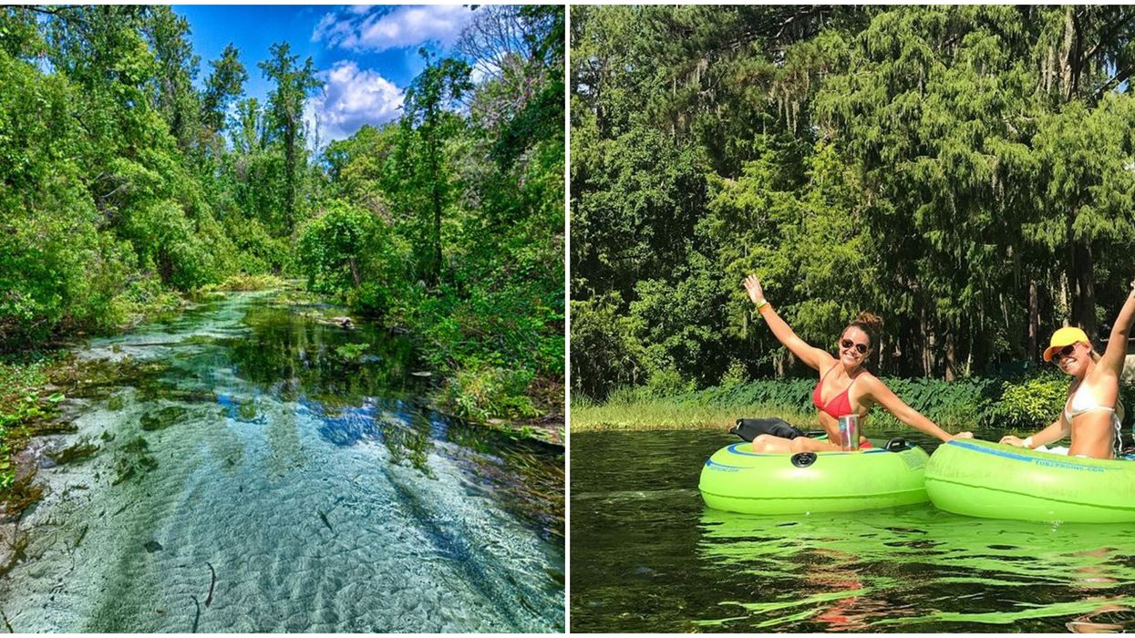 6 Florida Lazy Rivers You Can Float Down For Cheap This Summer