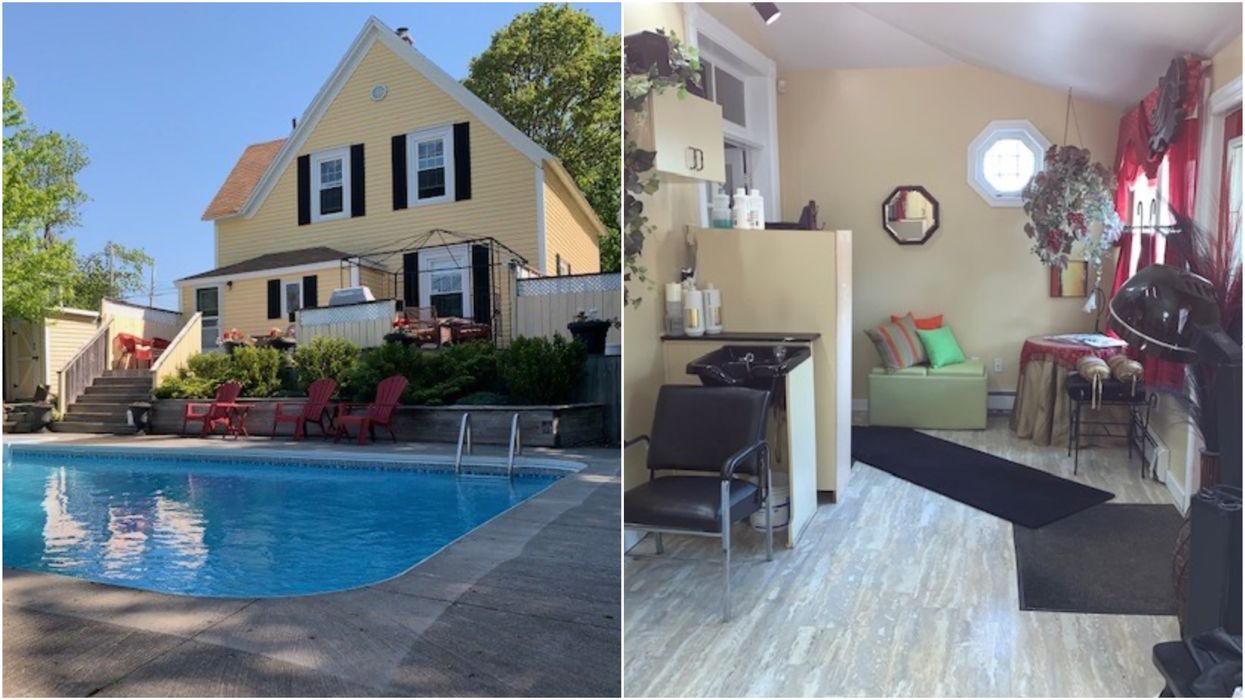 Nova Scotia House For Sale Has A Private Hair Salon & Pool But Costs Just $265K (PHOTOS)