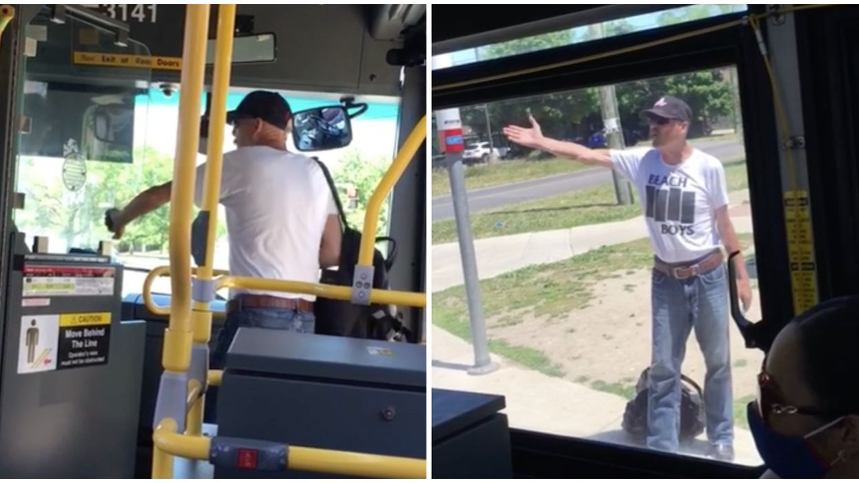 Racist Rant On The TTC Was Caught On Video After A Man Was Asked To Turn His Music Down