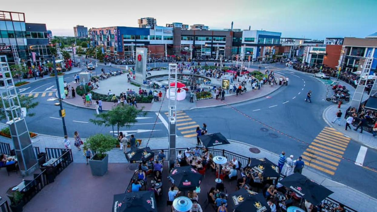 Le Centropolis Laval ferme ses rues pour devenir une terrasse géante