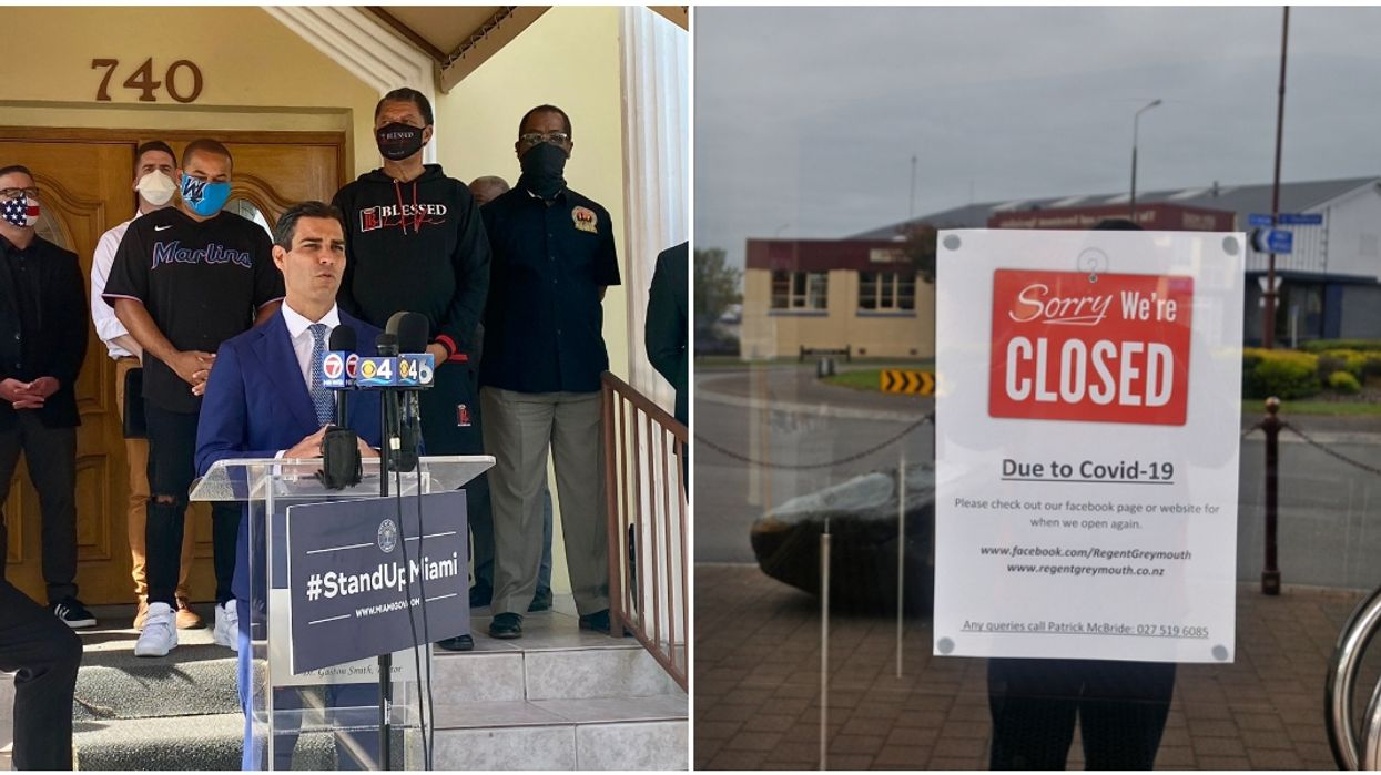 The Mayor Of Miami Says His Officers Will 'Shut Down' Businesses Not Social Distancing