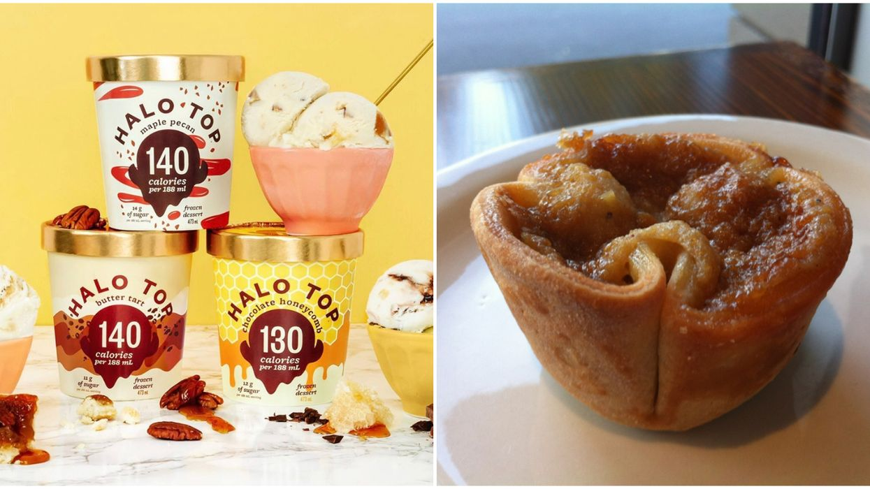 Canadians Will Now Be Able To Get Butter Tart Ice Cream All Year Long