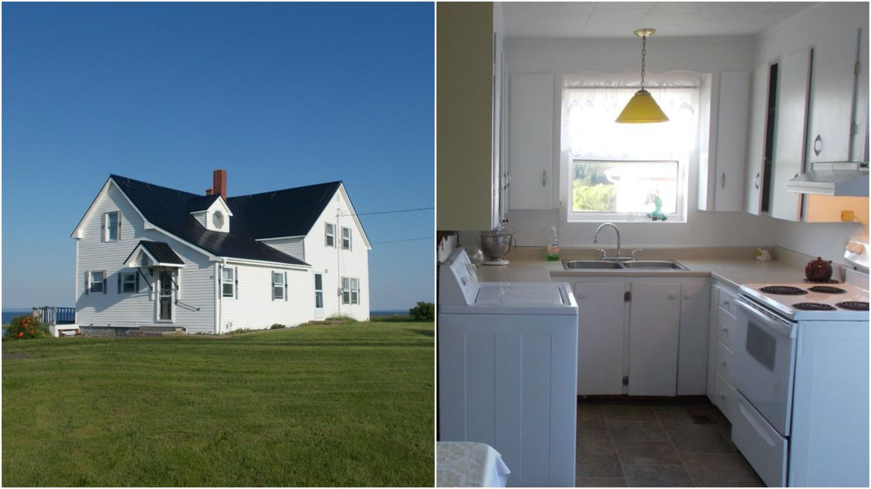 Nova Scotia House For Sale Has 8 Acres Of Land & Only Costs $250K (PHOTOS)
