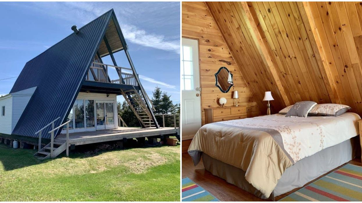 House For Sale In PEI Looks Like A Supersized Tent & It's So Cheap