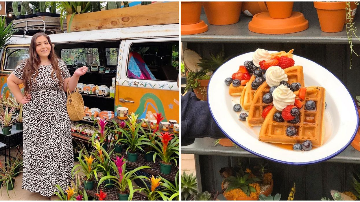 Watering Can Flower Market In Ontario Is Open Again For Brunch And It's So Dreamy