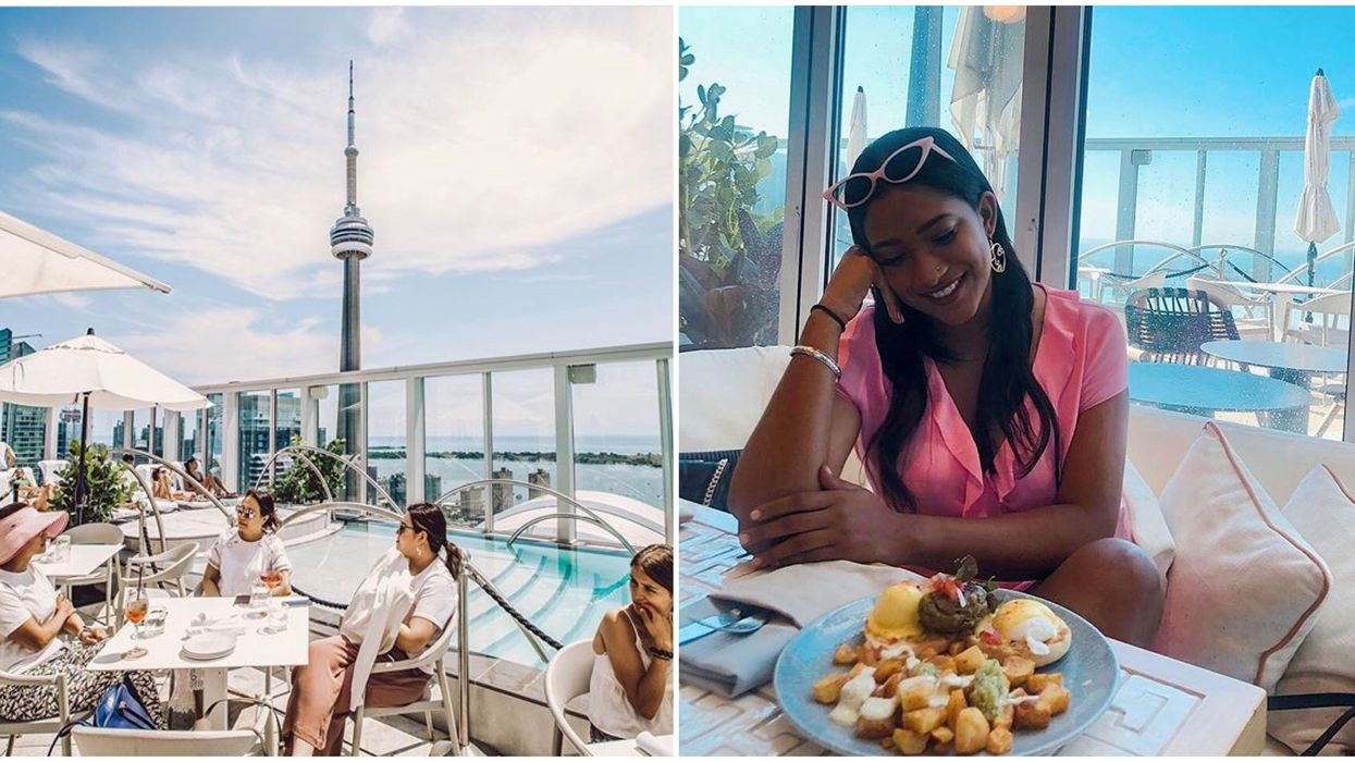 Toronto's KŌST Patio Officially Opens Tomorrow & You Can Dine In The Sky