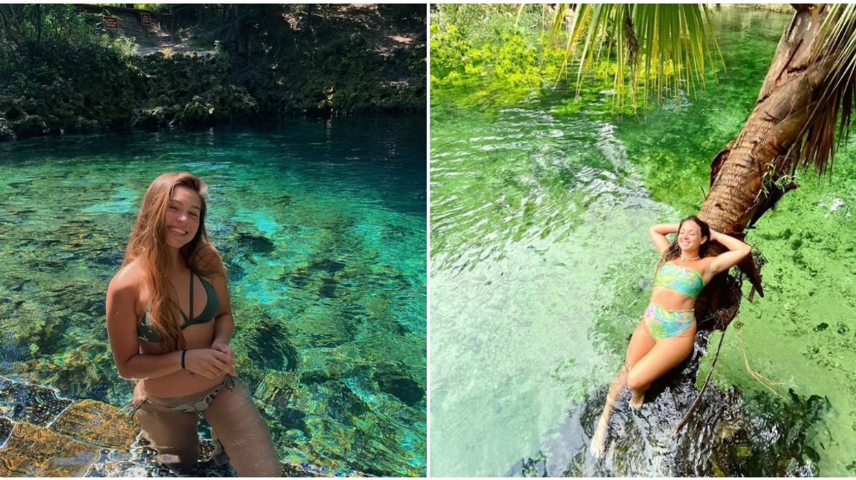 Swimming Holes In Florida With Crystal Clear Waters That Are Perfect For Summer
