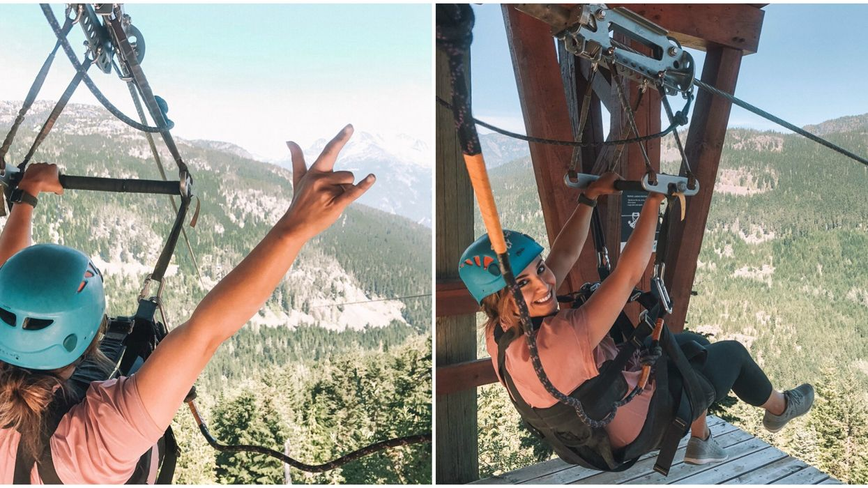 Ziplines In BC: One Of Canada's Longest Takes You Flying At 100 km An Hour