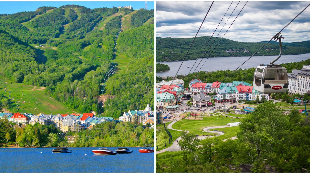 Mont Tremblant Open For The Summer & You Can Ride The Panoramic Gondola