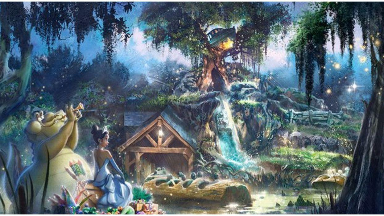 Disneyland's 'The Princess & The Frog' Ride Will Replace Splash Mountain