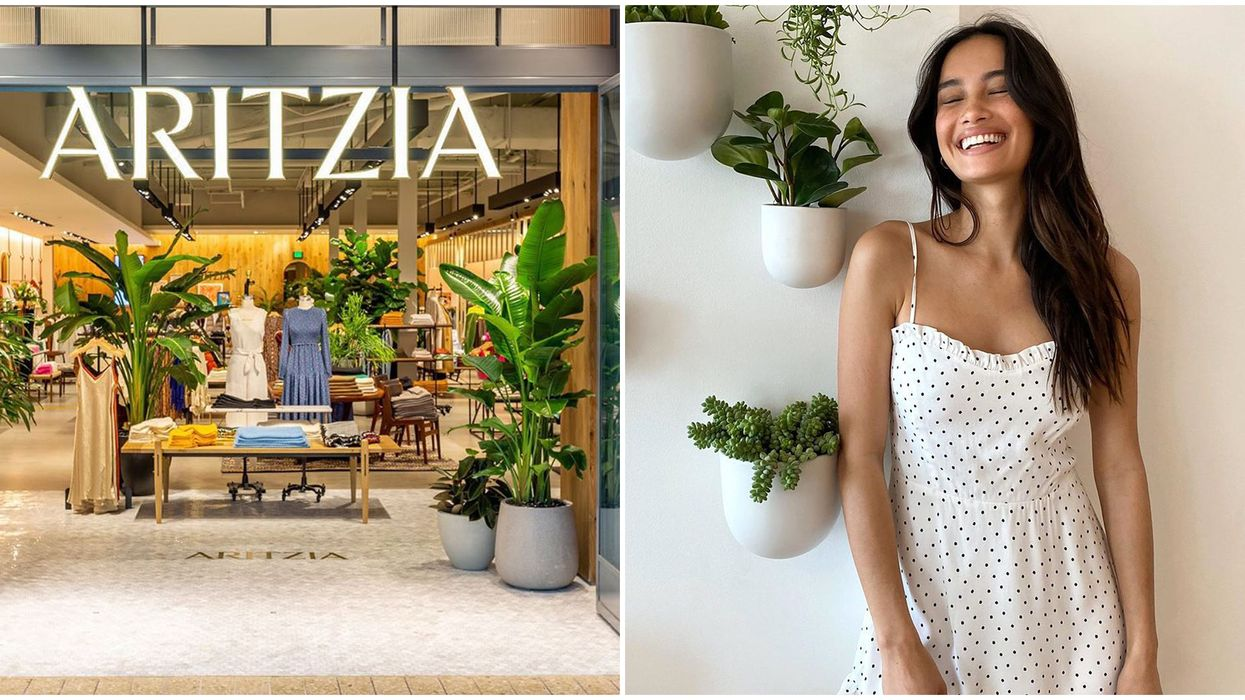 Aritzia's Summer Sale Has Up To 60% Off Cute Dresses