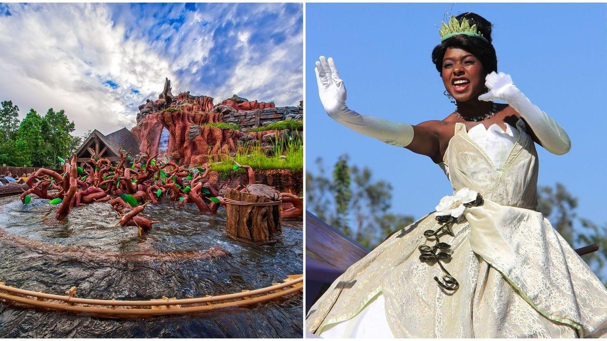 Disney World Splash Mountain Princess And The Frog To Replace Original Theme