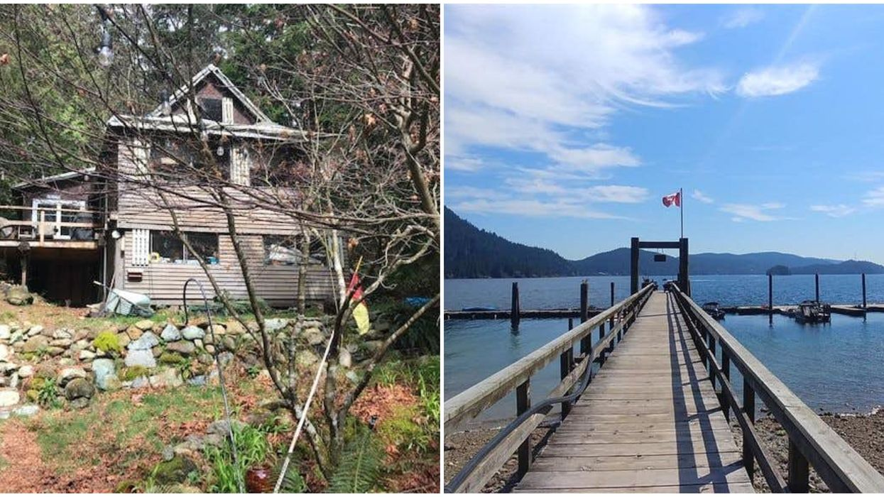 This Home For Sale In North Vancouver Is Only $399k & It's On A Private Beach