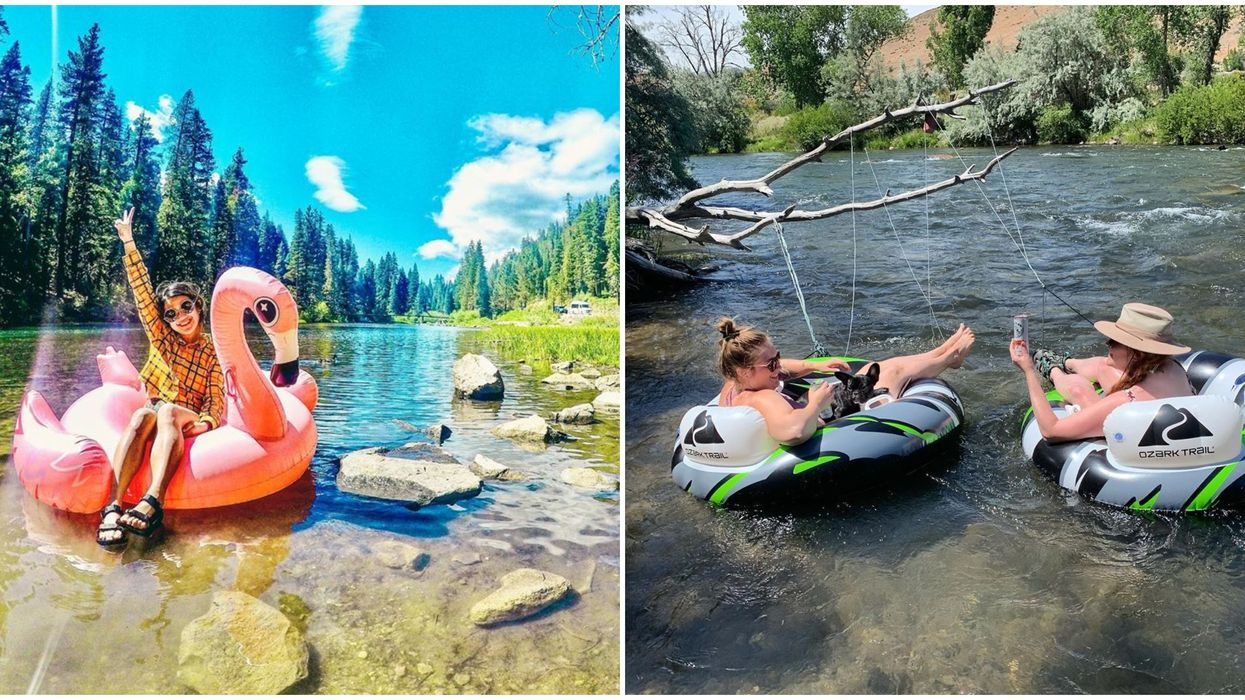 Truckee River Near Reno Is The Ideal Tubing Spot For You & Your Besties