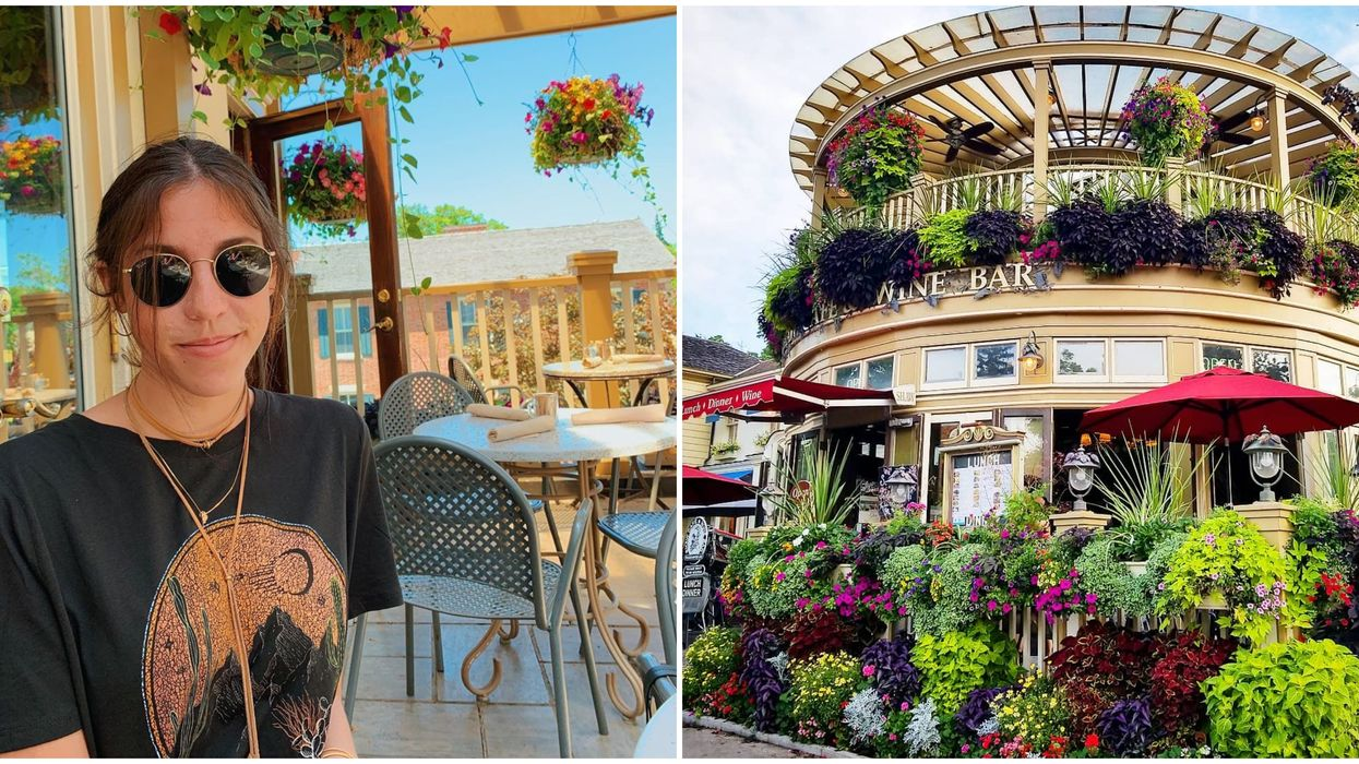 A Restaurant Patio Near Toronto Looks Like A European Oasis Landed In Ontario