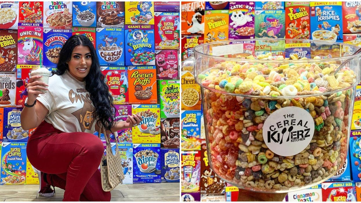Cereal Killerz Kitchen In Las Vegas Has An Ultimate Cereal Challenge