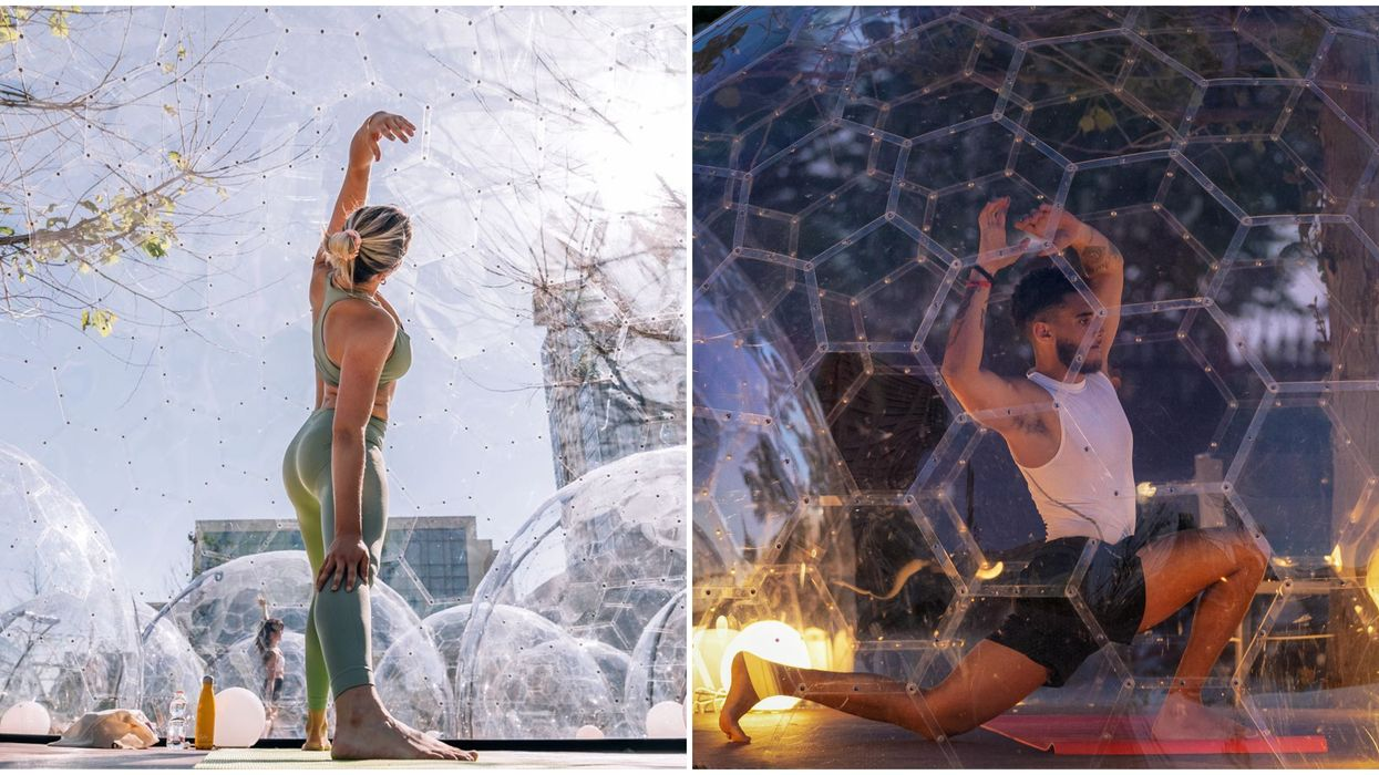 Yoga Bubble Toronto Is The Latest Trend In The City But Not Everyone Is On Board With It
