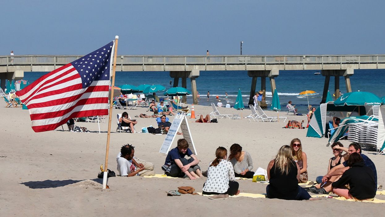 Beaches In South Florida Close In Preparation For 4th Of July Weekend