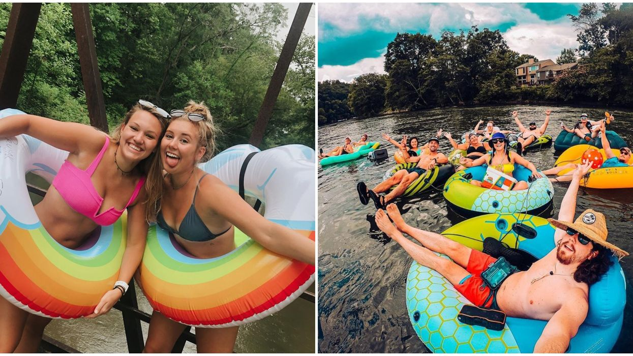 Lazy Rivers In Georgia Make The Perfect Day Trip